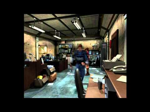 Let's Play Resident Evil 2 (Leon A) Episode 02 Stars Office