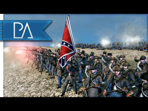 BATTLE OF FORT WAGNER - North & south II Total War Mod Gameplay