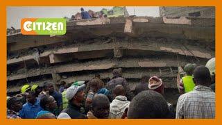 Watu sita wameokolewa katika mkasa wa Jumba la ghorofa sita lililoporomoka katika mtaa wa Tassia