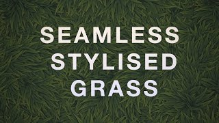 how to make hand painted grass textures