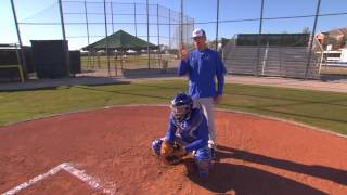 bunting drills catcher fundamentals series by the img academy baseball program 6 of 6