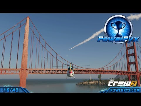 The Crew 2 - 40 Easy Photo Ops Locations (Pics or it didn't happen Trophy / Achievement Guide)