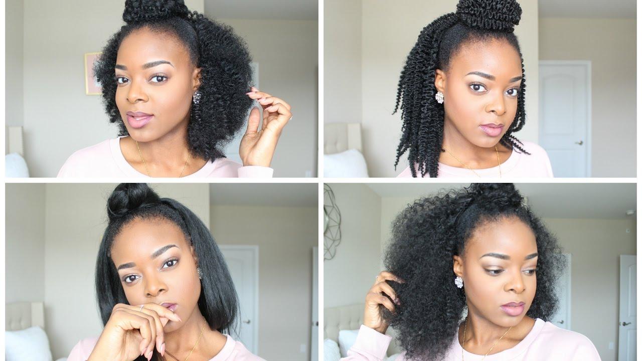 Half Up Half Down Hairstyles 4 Ways