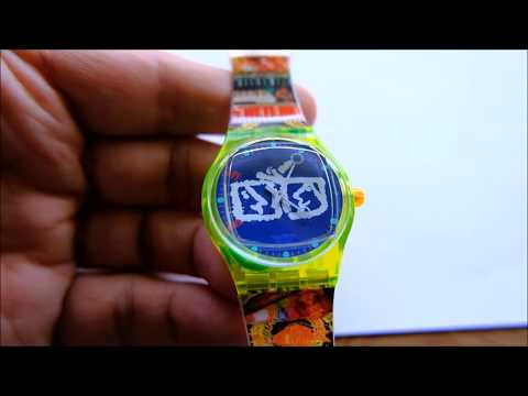 Swatch Musicall Alarm Zapping Wristwatch  SLZ104