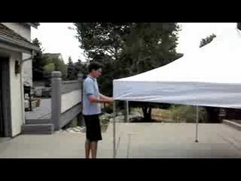 & One Person Setup Video INSTANT CANOPY - YouTube