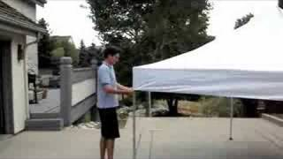 One Person Setup Video Instant Canopy