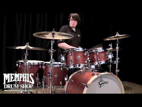 Gretsch Brooklyn Series Drum Set - Satin Mahogany