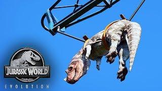 DINOSAUR TRANSPORTATION! Jurassic World Evolution #3