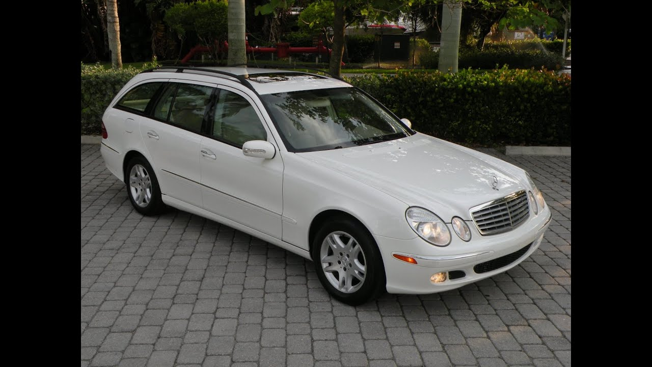 2005 mercedes benz e320 wagon for sale in fort myers fl youtube. Black Bedroom Furniture Sets. Home Design Ideas