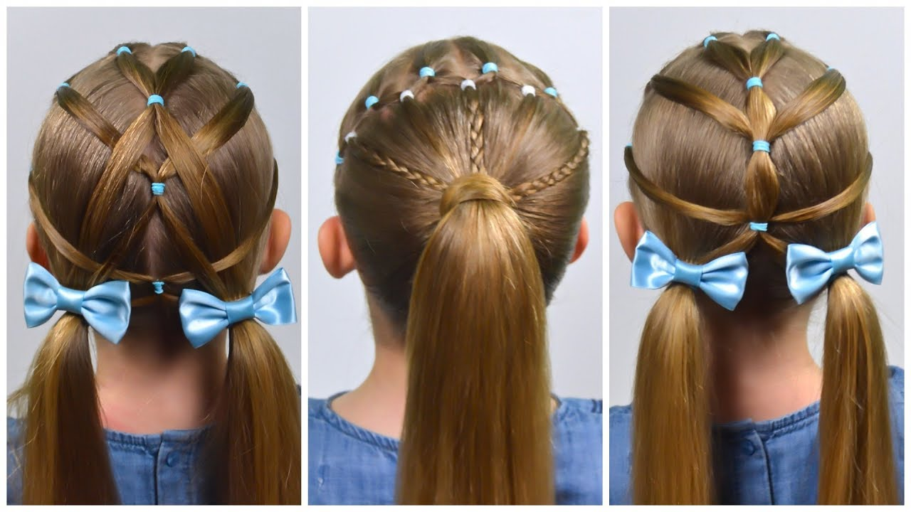 easy everyday hairstyles with pigtails