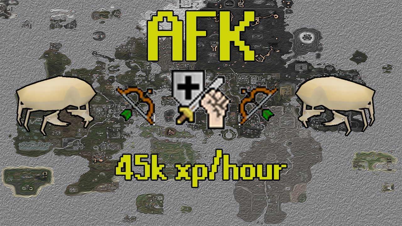 Osrs 45k Combat Xp Hour Afk Sand Crabs You