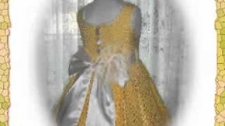 Crochet Pattern Children Dress - Debbie's Sunshine Daisies