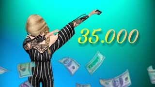 Avakin Life | трата 35.000 avacoins |