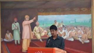Swami Shraddhanand Martrydom Day Speech by Anup