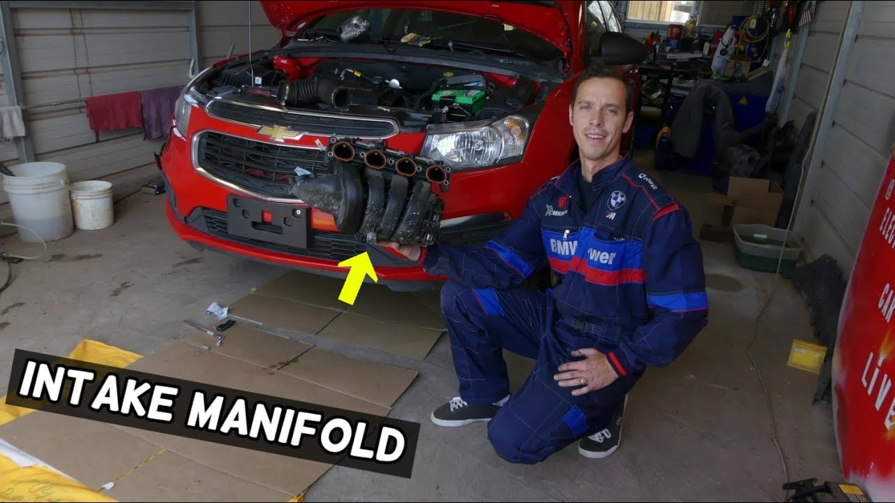 CHEVROLET CRUZE INTAKE MANIFOLD REMOVAL REPLACEMENT CHEVY SONIC 1 8