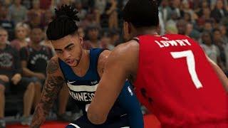 Raptors vs Timberwolves Full Game Highlights   NBA Feb 10th, 2020 Toronto vs Minnesota (NBA 2K)