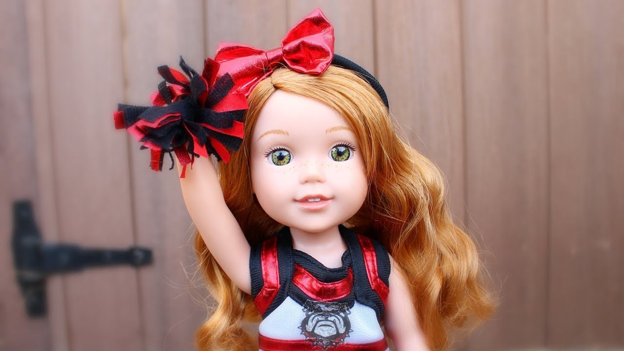 Well-liked American Girl Doll Cheer Uniforms & Pompoms - YouTube XB18