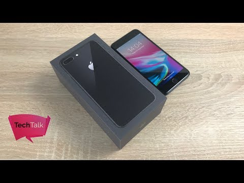 iPhone 8 Plus Unboxing & First Look