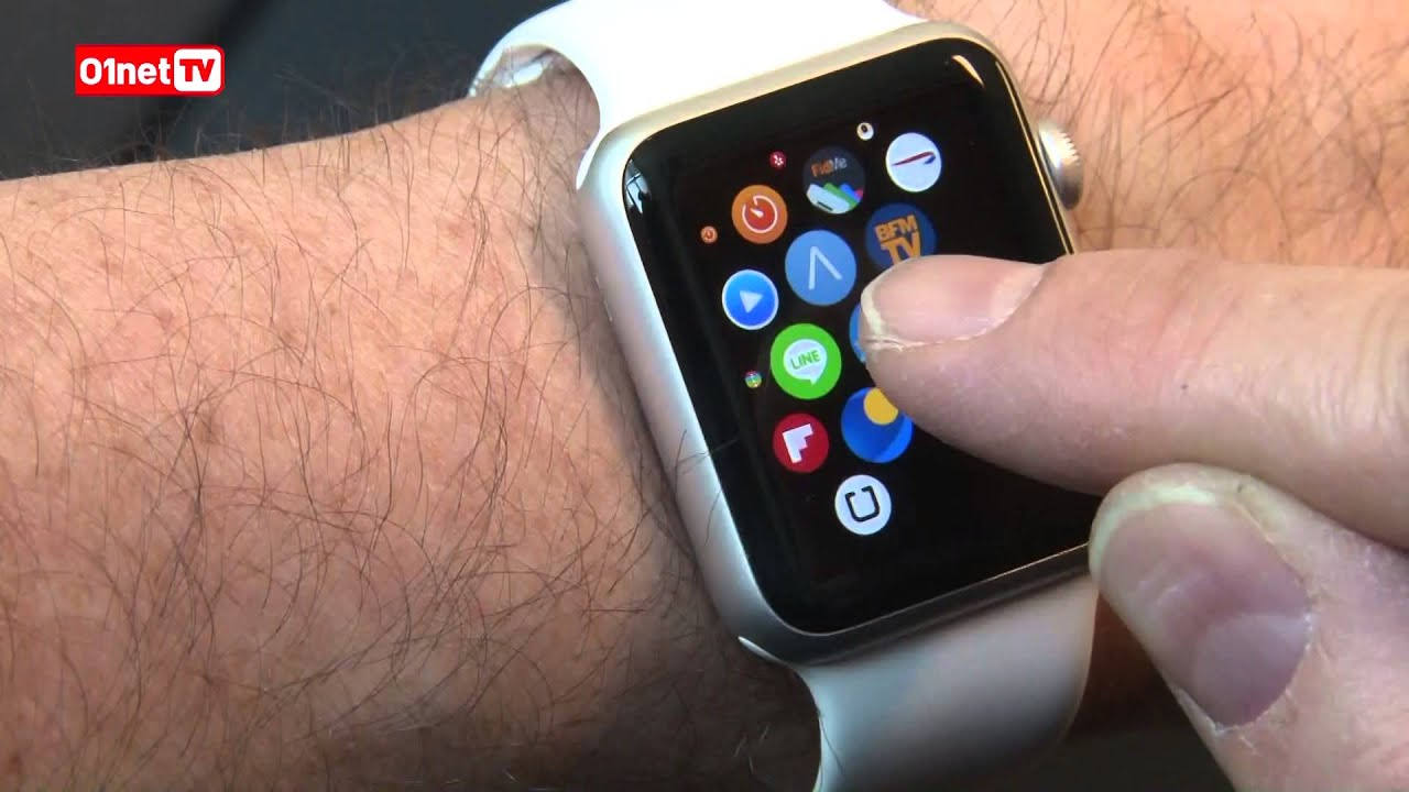comment fonctionne apple watch