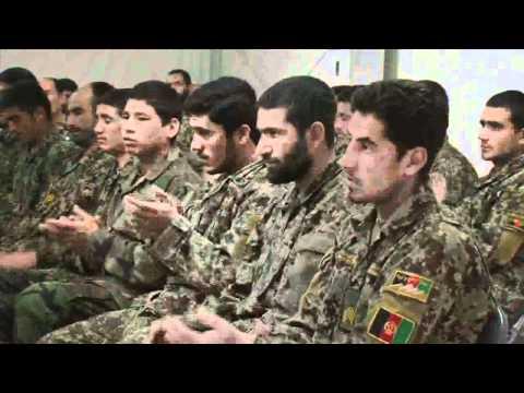 Marines teach graduates of Afghan National Army admin course