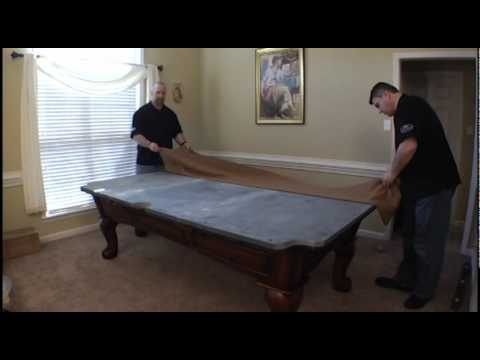 legacy pool table assembly 1