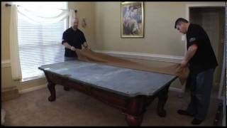 Legacy Pool Table Assembly Part 2