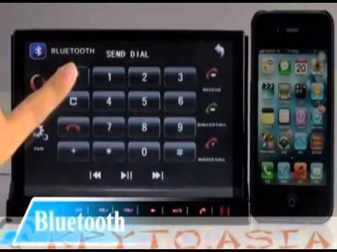 Медиацентр авто 2DIN съёмный Андроид 2.3 планшет