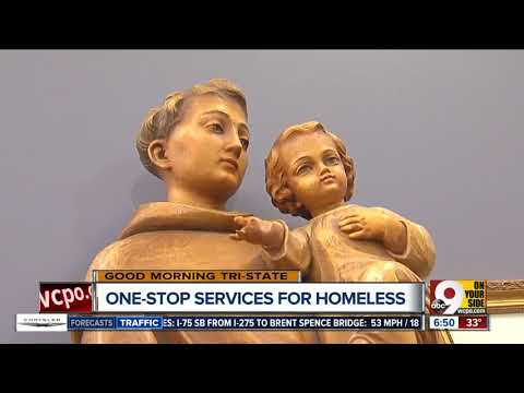 Saint Anthony Center in OTR offers numerous services under one roof for homeless people