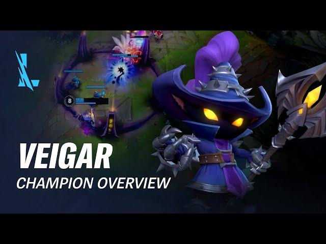 Veigar Champion Overview | Gameplay - League of Legends: Wild Rift