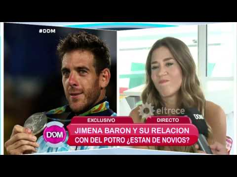 ¿Jimena Barón y Juan Martín del Potro están de novios?