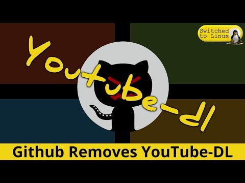 Microsoft's Github Takes Down Youtube-dl