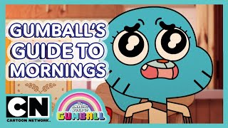 The Amazing World of Gumball | Guide To Mornings | Cartoon Network UK