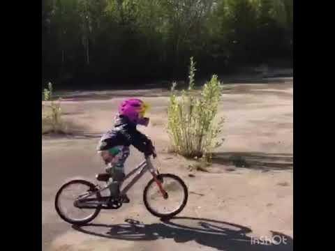 Трюки на велосипеде и беговеле