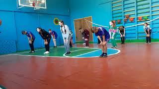 Урок фізичної культури з елементами баскетболу в 8 класі
