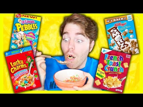 TASTING WEIRD KID CEREALS
