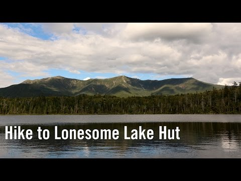 Hike to Lonesome Lake Hut