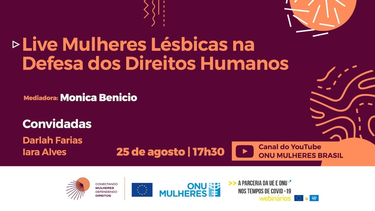Mulheres Lésbicas na Defesa dos Direitos Humanos #Defensoras #VisibilidadeLésbica #Livres&Iguais