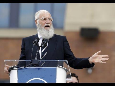 Politics on display as David Letterman receives Mark Twain Prize