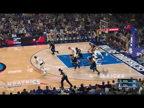 MINNESOTA TIMBERWOLVES AGAINST DALLAS MAVERICKS - LIVE NBA 2K20