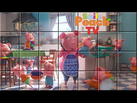 New Peach S Stories Sing Rosita Piglets Puzzle Video For Kids Sing Rosita