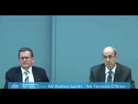 Jehovah's Witnesses 2017 Royal Commission, Morning session