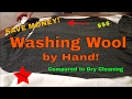 Washing Wool