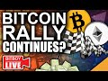 BITCOIN & Ethereum Pumping NOW!!! (2021 Bull Rally Continues)