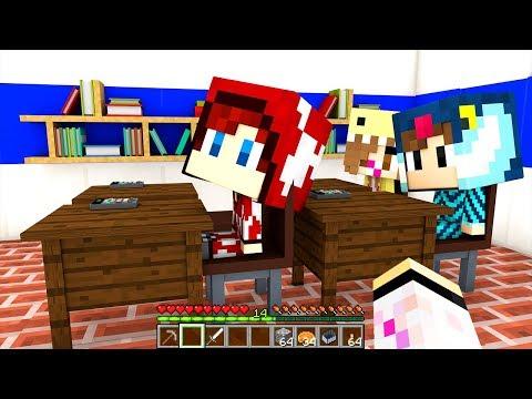 I NOSTRI FIGLI VANNO A SCUOLA!!! - Scuola di Minecraft