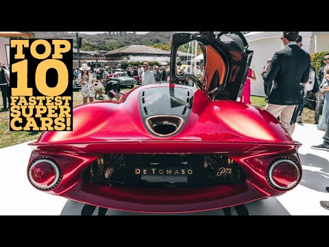 Top 10 Fastest Road Cars in the world 2020 | High Speed