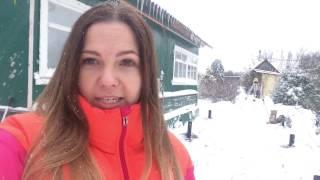 видео Виновые сваи зимой