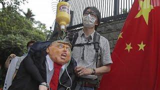 Hong Kong : La Fermeté De Trump Face à Pékin