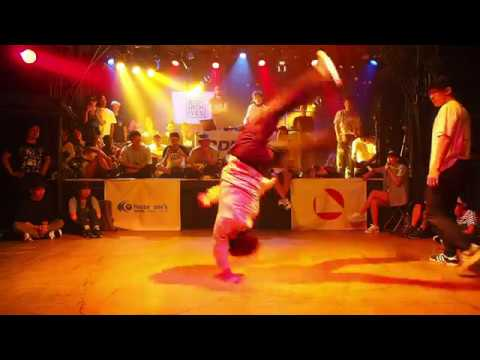 Ryo T One vs Tetsu - Under21 Bboy Solo Battle - Semi Final 【VU Japan Cypher Vol.1】