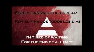 30 Seconds To Mars - End Of All Days (traducción + Lyrics)