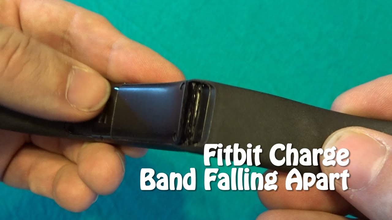 Fitbit Charge Band Peeling Issues